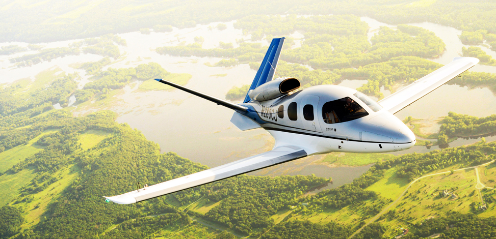 Cirrus Vision jet sales and charter